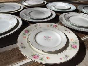 Our Vintage Mix-and-Match China